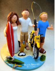Wedding Cake Topper with Teenaged Son with beach theme.PNG