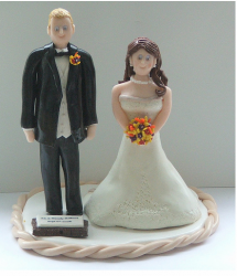 Wedding Cake Toppers for Texas Couple.PNG