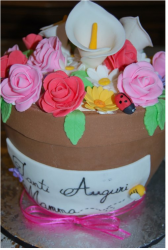 Beautiful floral mother's day cake with chocolate base.PNG