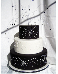 Black and white fireworks wedding cake toppers.PNG
