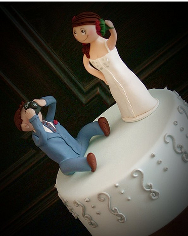 Wedding Cake Bride  Groom Toppers on Bride And Groom Cake Toppers Funny Wedding Cake Toppers Png