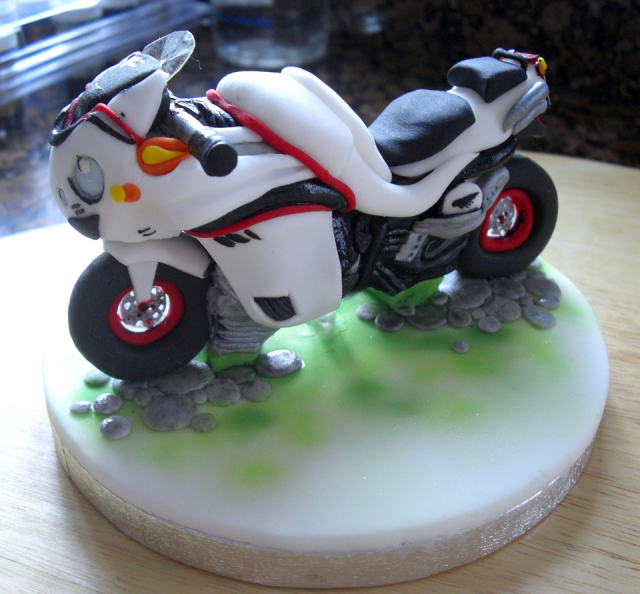 Motor Cycle Cake Topper Picture Png 1 Comment Hi Res 720p Hd