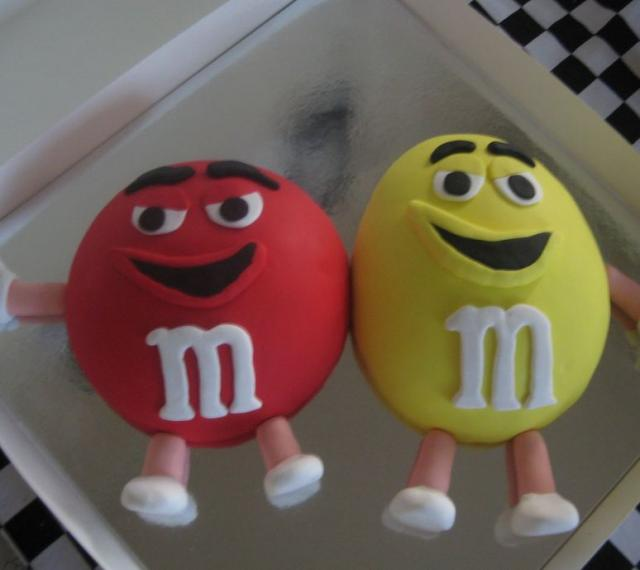 Red And Yellow M&M's Cake.JPG (1 Comment) Hi-Res 720p HD