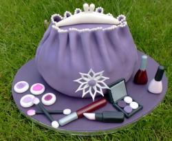 Lavender makeup bag cake.JPG