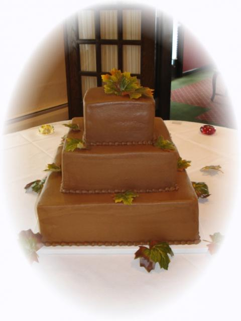 square chocolate wedding cakes square chocolate wedding cake picture 20360