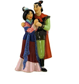 Mulan And Prince Figurine Cake Topper Png 2 Comments