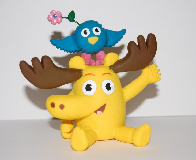 Incredible Nick Jr Moose And Zee Birthday Cake Topper Png Hi Res 720P Hd Funny Birthday Cards Online Overcheapnameinfo