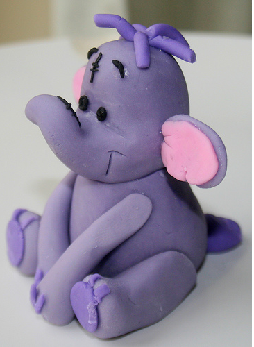 Purple Heffalump Disney Character Pictures Png Cake