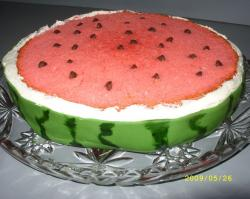 Watermelon slice cake.JPG