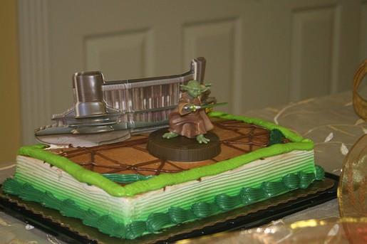 Star Wars Groom Cake Jpg