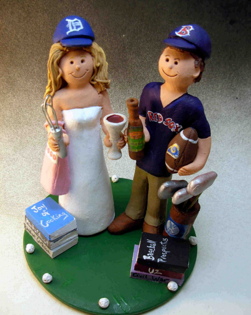 Baseball Wedding Cakes Gallery