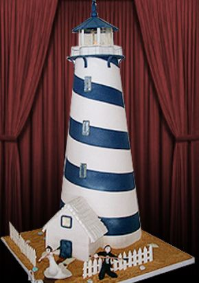Lighthouse tower cake.JPG