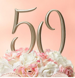 Photo of elegant 50th anniversary cake topper.PNG