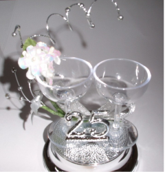 25th wedding anniversary cake topper with wine glasses.PNG
