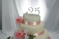 Beautiful 25th wedding anniversary cake topper photo.PNG