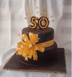Chocolate 50th anniversary cake topper images.PNG