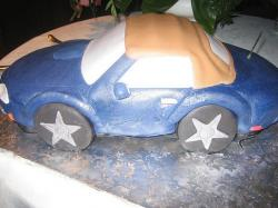 sport car Groom cake.jpg