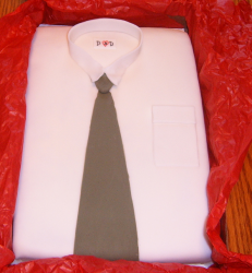 Dress shirt father day cakes with brown tie.PNG