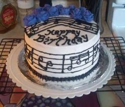 Musical notes birthday cake.JPG