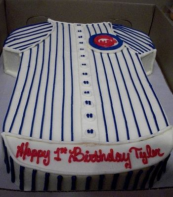 Chicago Cubs Jersey Cake Jpg 1 Comment