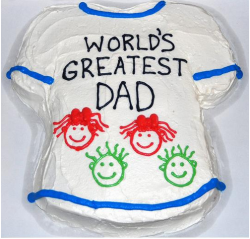 Fathers day tshirt cake picture with fun cake decor.PNG