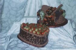 Picnic Basket and the Mosaic Groom's Cakes.jpg