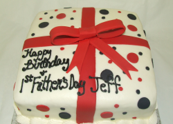 Gift box father's day cake for first time fathers.PNG