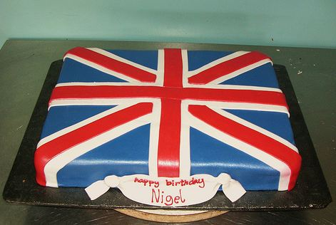 Uk British Flag Cake Jpg 1 Comment