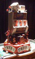 Slot machine and dice anniversary cake.JPG
