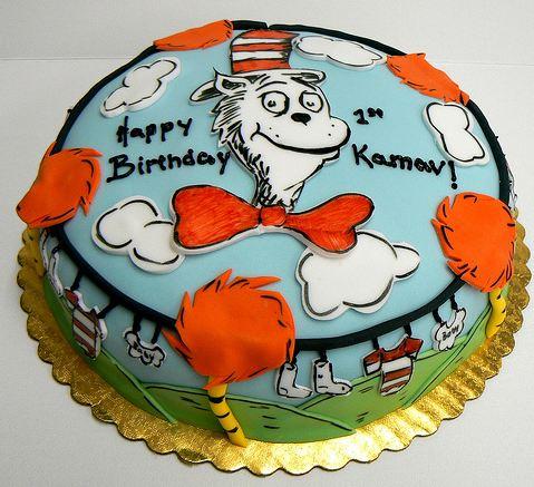 Superb Round Cat In The Hat Birthday Cake For One Year Old Jpg Funny Birthday Cards Online Elaedamsfinfo