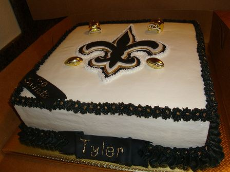 New Orleans Saints Birthday Cake Jpg 1 Comment