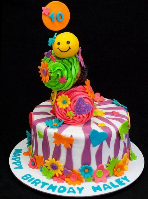 10 yr old birthday cake ideas