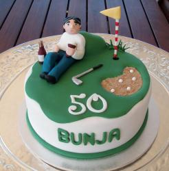 Golf and wine theme 50th birthday cake.JPG