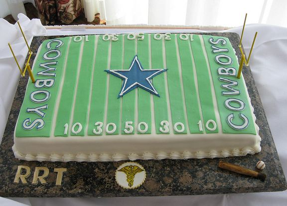 Dallas Cowboys Football Field Cake Jpg 1 Comment