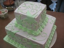 fancy birthday cake in purple and green.jpg