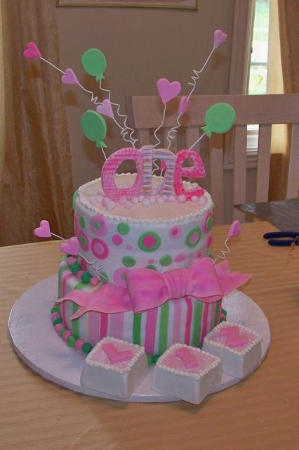 first birthday cake for baby girl.jpg (30 comments) Hi-Res ...