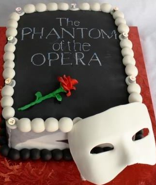 Phantom Of The Opera Cake Jpg 1 Comment