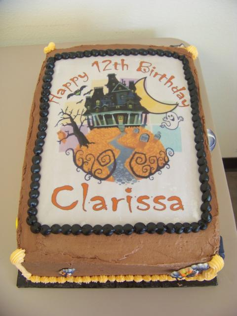 Haunted House Birthday Cake Jpg Hi Res 720p Hd