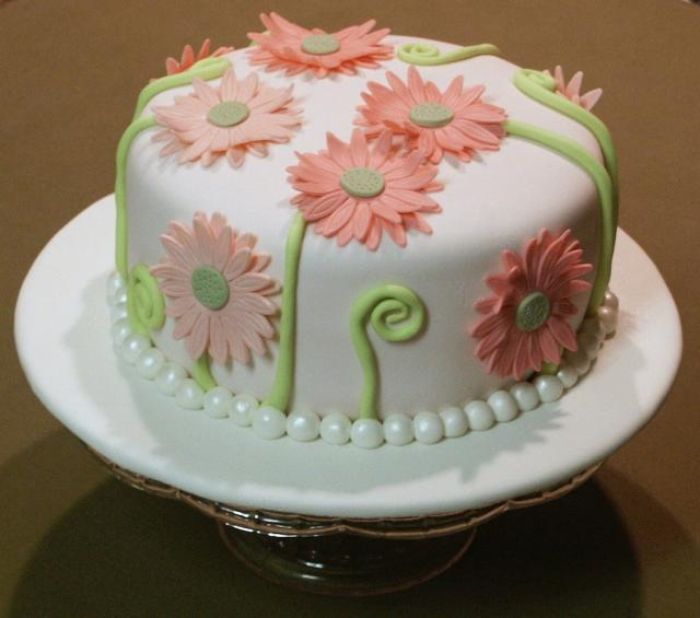 Gerbera Daisy Smash Cake Picture Jpg 3 Comments Hi Res