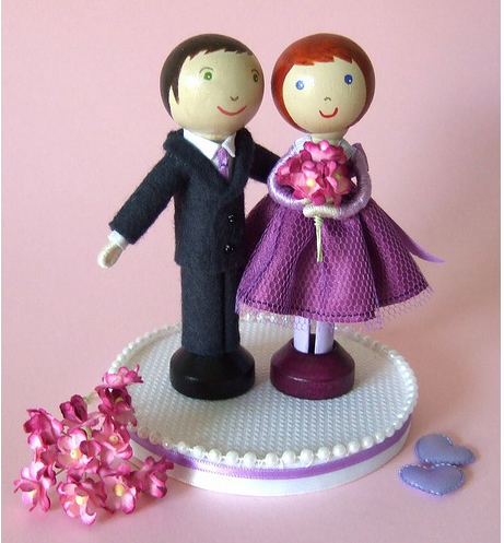 Cute Anniversary Cake Images : Cute anniversary cake toppers.PNG