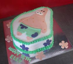 Patrick Star birthday cake.JPG