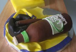 Beer and Cigar Groom's Cake.JPG
