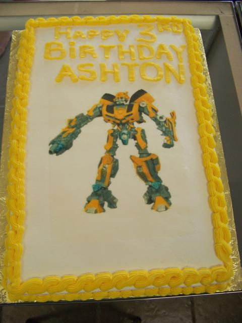 Bumblebee Transformer Birthday Cakeg Hi Res 720p Hd