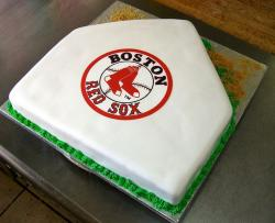 Boston Red Sox home plate cake.JPG
