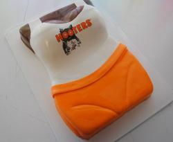 Hooters Birthday Cake