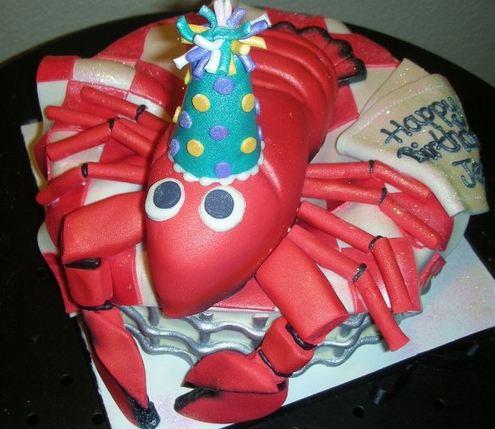 Lobster Birthday Cake Jpg