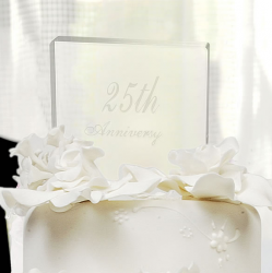 Silver anniversary crystal cake topper picture.PNG