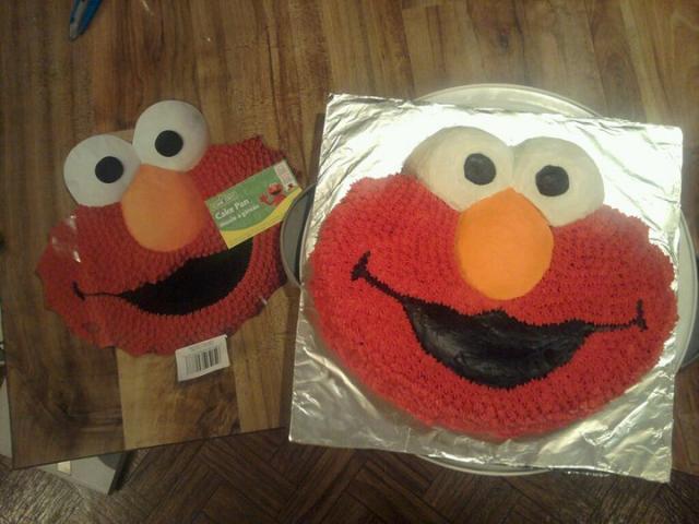Elmo Cake Pan Elmo Cake