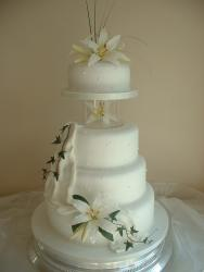 pretty cake for wedding