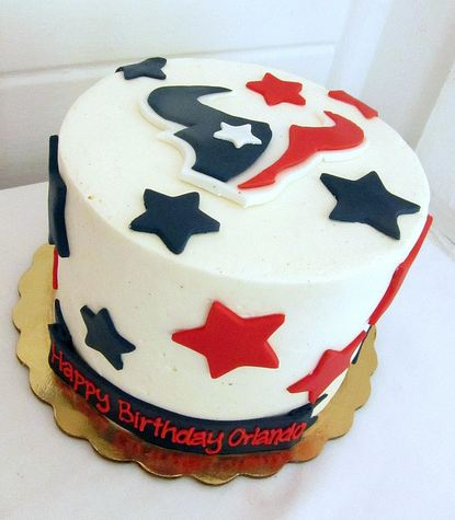 Houston Texans Birthday Cakejpg For Dog Cake